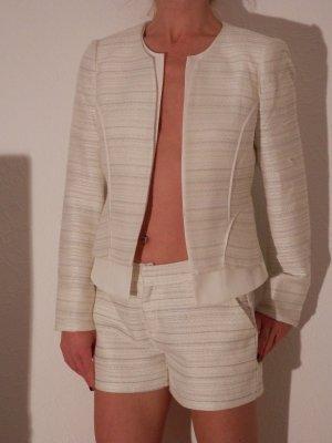 edel Designer Hosenanzug Blazer Hotpants Hose Blogger Statement Kombination NEU