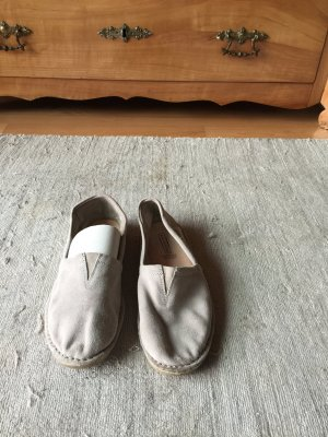 Fifth Avenue Moccasins beige suede