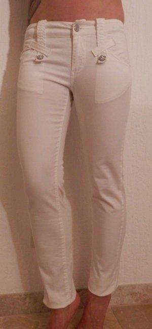 edel Fornarina Skinny Röhre Jeans Fashion Blogger Slim Fit Röhrenjeans Low Waist