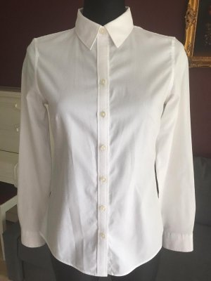 Banana Republic Blouse met lange mouwen wit