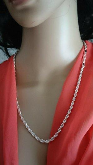 Edel Halskette - Collier 4 mm - 55 cm lang- Silber 925