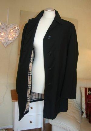Edel Leichte Burberry Damen Jacke schwarz Gr.40/M Übergangsjacke Mantel