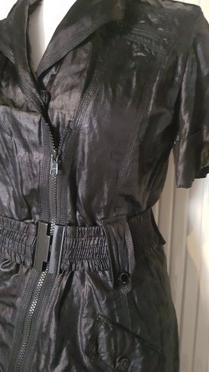Ambiente Vestido de manga corta negro