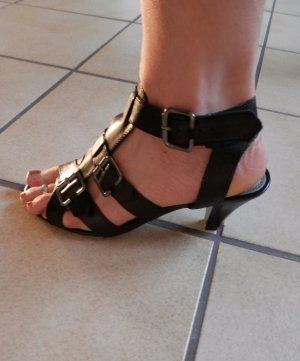 Edel Römer Gladiator Sandalen High Heels Römersandalen Fashion Blogger Style