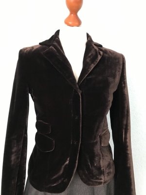 BCBG Maxazria Short Blazer dark brown