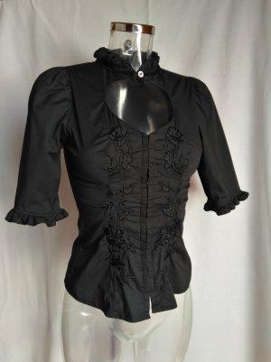 edele Bluse mit vielen schönen Details!