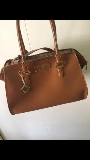 Edele DKNY Tasche in Cognac