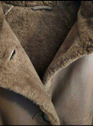 Walbusch Pelt Coat cognac-coloured