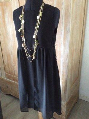 Forever 21 Peplum Dress black polyester