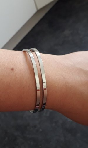 Brand Bracelet light grey