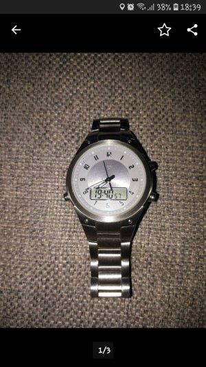 Edelstahl Uhr