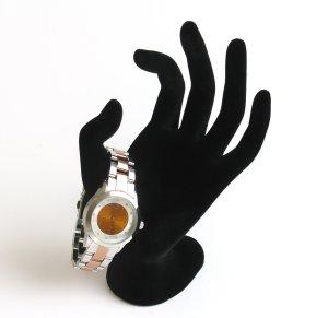 Edelstahl Uhr, Damenuhr, rosegold, luxuriös,Metallarmband, silber, neu