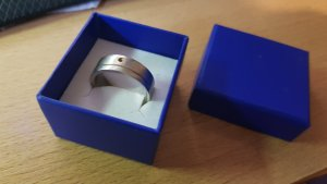 Fossil Partnerring zilver