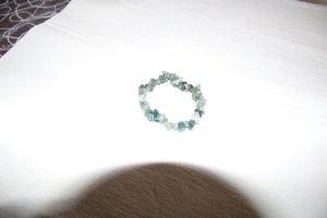 Braccialetto sottile verde bosco-verde chiaro