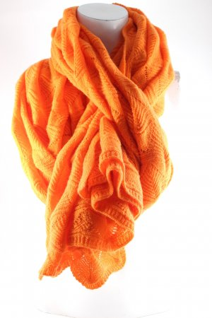 edelziege Kaschmirschal orange Casual-Look