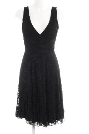 Eden A-Linien Kleid schwarz Elegant
