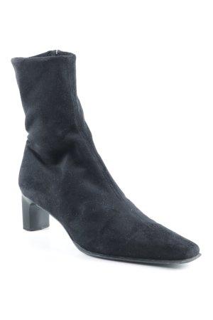 Eden Reißverschluss-Stiefeletten schwarz Casual-Look