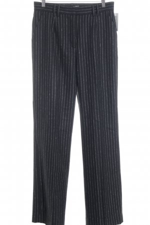 Edited Pantalón de vestir negro-blanco estilo «business»