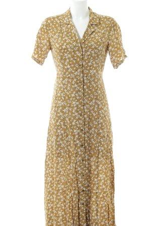 Edited Blusenkleid florales Muster 70ies-Stil
