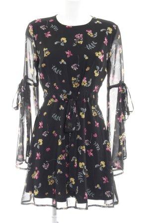 Edited Blusenkleid florales Muster schlichter Stil