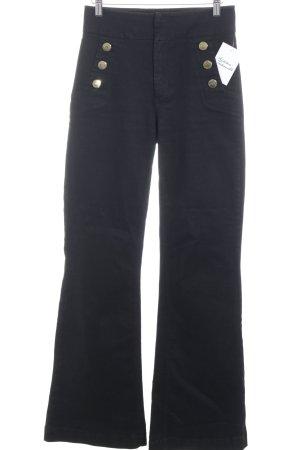 Edited Boot Cut Jeans schwarz klassischer Stil