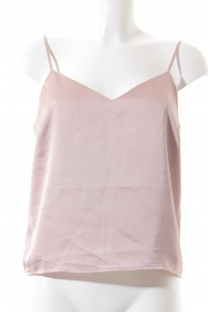 Edited Cropped Top rosé Glanz-Optik