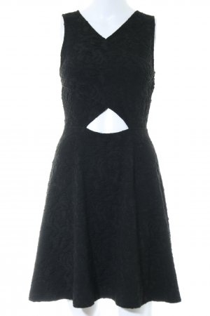 Edited Cut-Out-Kleid schwarz Casual-Look