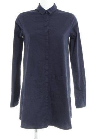 Edited Hemdblusenkleid dunkelblau Casual-Look