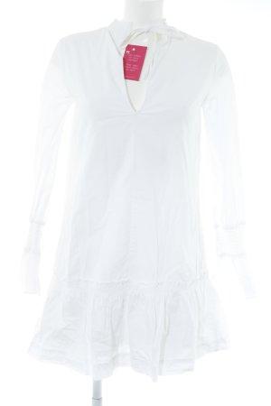 Edited Hemdblusenkleid weiß Elegant