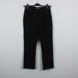 EDITED High Waist Jeans Gr. 36 schwarz (18/11/459)