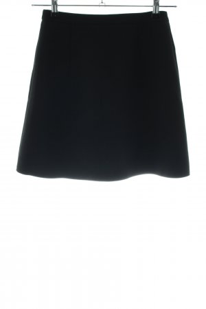 Edited High Waist Rock schwarz Business-Look