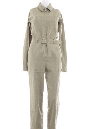 Edited Jumpsuit khaki Street-Fashion-Look