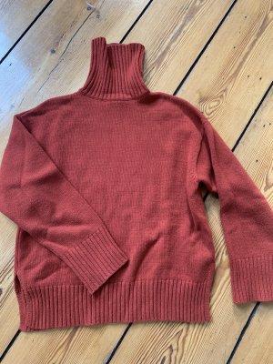 Edited Pull en cashemire rouille laine