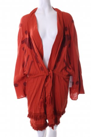 Edited Kimono dunkelorange Boho-Look