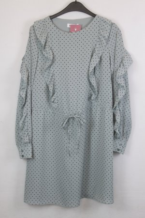 Edited Kleid Blusenkleid Gr. 38 mint gepunktet (18/5/541)