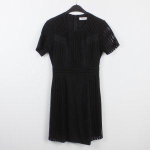EDITED Kleid Gr. 36 schwarz Lochmuster (18/9/519)