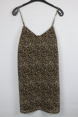 Edited Kleid Trägerkleid Gr. 34 / XS  Tigermuster (18/6/355)