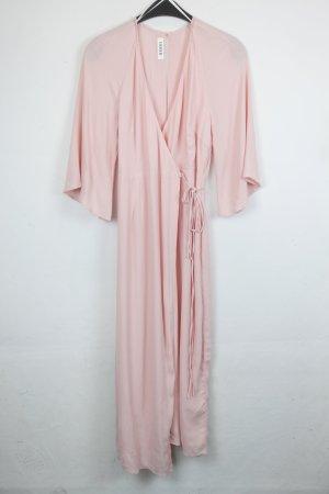 Edited Robe portefeuille rosé-rose clair viscose