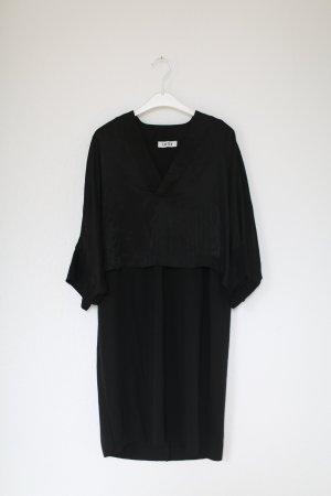 Edited kleines Schwarzes Vintage Dress Kleid Cape Gr. M black Neu