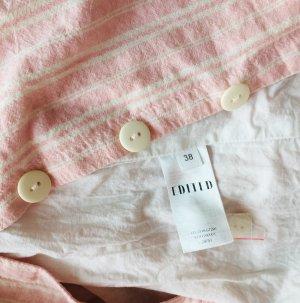Edited Pinafore dress pink-white