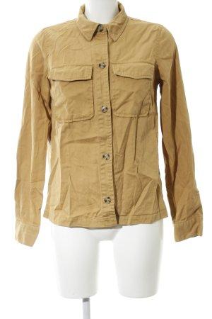 Edited Langarm-Bluse bronzefarben Casual-Look