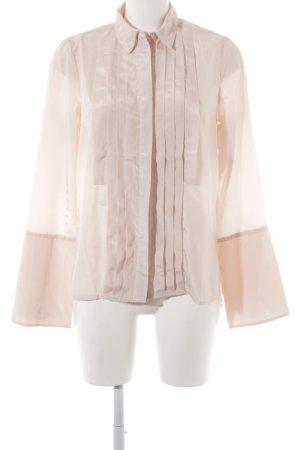 Edited Langarm-Bluse rosé Elegant