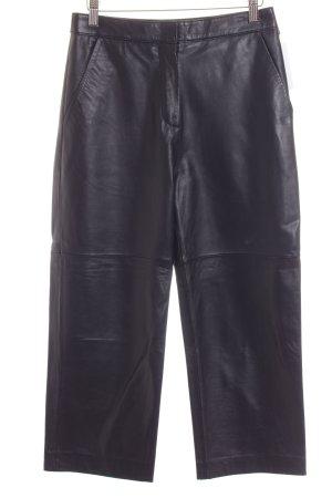 Edited Lederhose dunkelblau Street-Fashion-Look