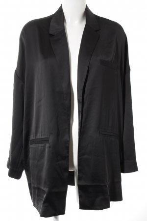 Edited Long-Blazer schwarz Casual-Look