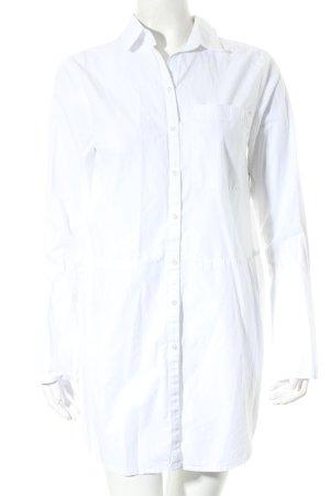 Edited Long-Bluse weiß minimalistischer Stil
