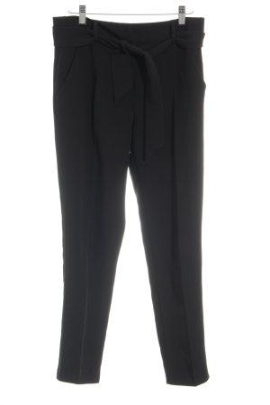 Edited Pantalón anchos negro estilo «business»