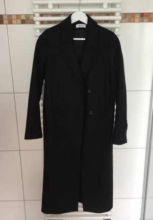 Edited Wollen jas zwart Wol
