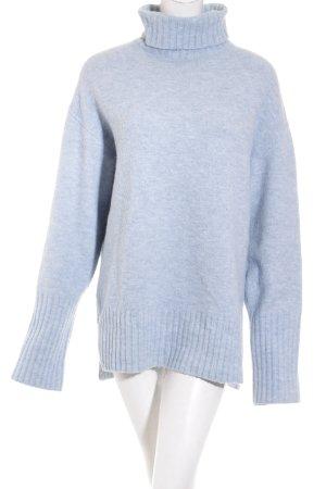 Edited Oversized Pullover hellblau Kuschel-Optik
