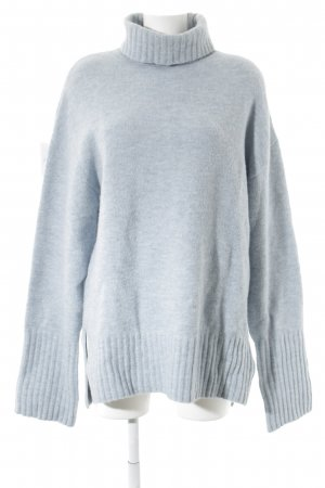 Edited Oversized Pullover himmelblau Kuschel-Optik