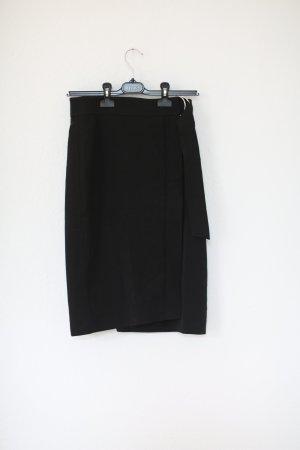Edited Pecil Skirt Bleistiftrock Gr. 38 schwarz neu mit Etikett Wickelrock Vintage Look Pin-Up